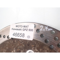 Tarcze hamulcowe przód 2,7mm Kawasaki GPZ 500