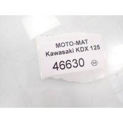 Set [L] podnóżek pasażera tył Kawasaki KDX 125