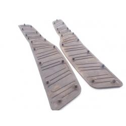 Gumy podłogi stopnie dywaniki Piaggio X8 X-Evo 125