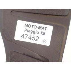 Guma [P] podłogi stopień dywanik Piaggio X8 X-Evo 125