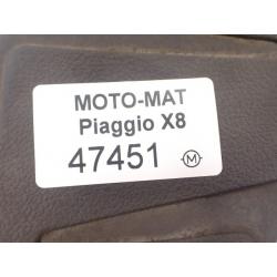 Guma [L] podłogi stopień dywanik Piaggio X8 X-Evo 125