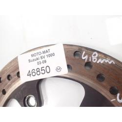 Tarcza hamulcowa tył 4,6mm Suzuki SV 1000 03-09