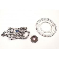 Łańcuch zębatki napęd Suzuki GSR 750 11-16