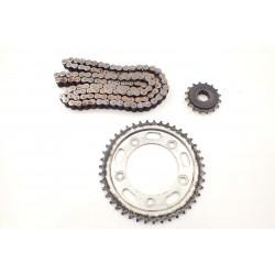 Łańcuch zębatki napęd Honda CBF 1000 06-09