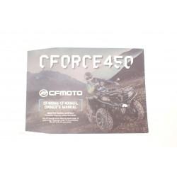 CF Moto CForce 450 520 L Książka serwisowa